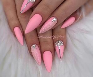 nails nailart pink