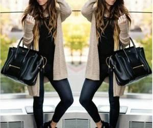 celine bag outfit idea