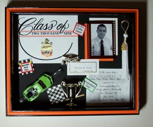 graduation shadow box