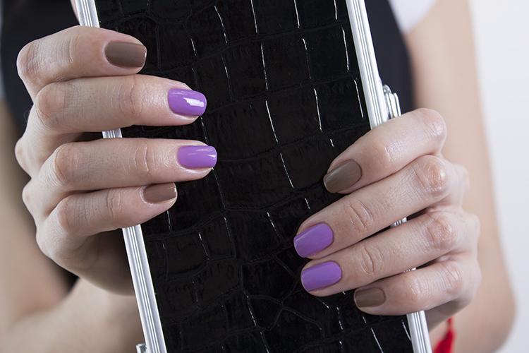 Ногти однотонный цвет сочетание