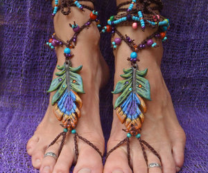 gypsy peacock sandals