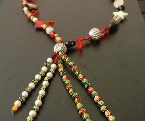 beaded chain necklaces