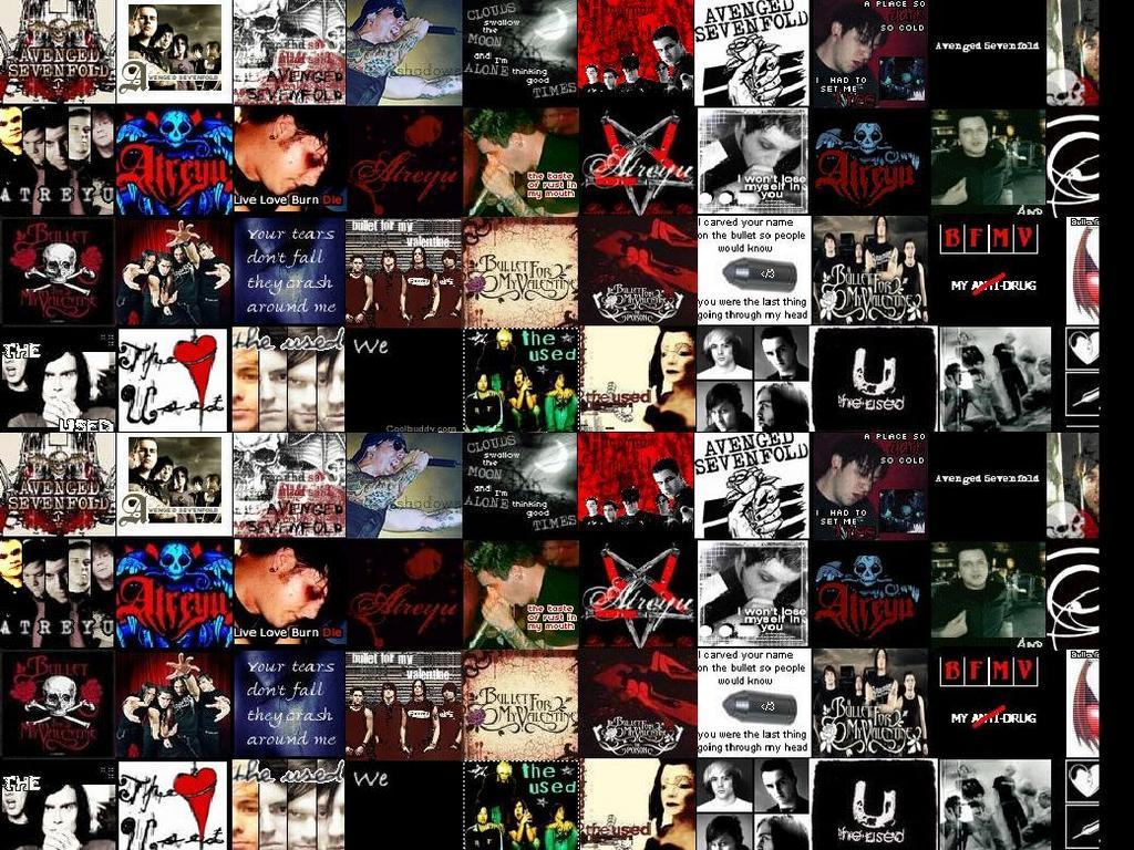 hardcore bands collage images - photo #33