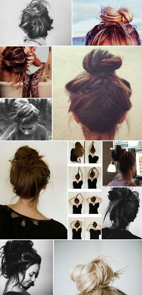 Hairstyles / For bad hair days