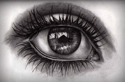 eye eyes drawing drawings sketch pencil cool realistic crying draw reflection sketches detailed google sad dibujo tears things lost olho