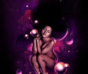 cosmic dreaming girl