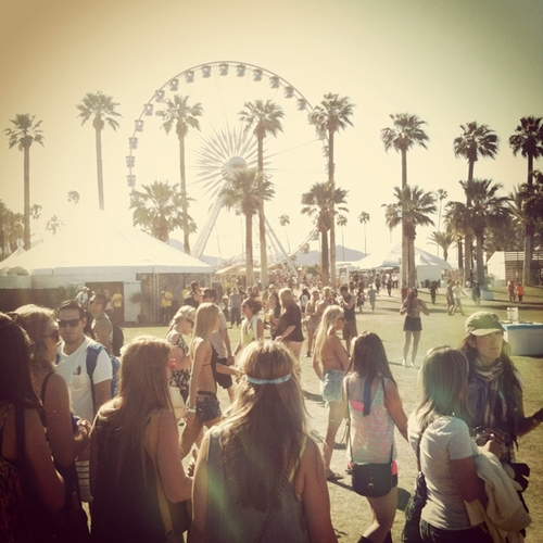 coachella through instagram