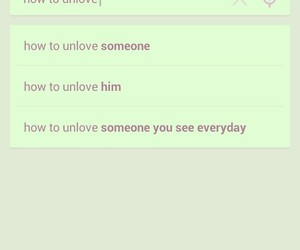 how to unlove someone