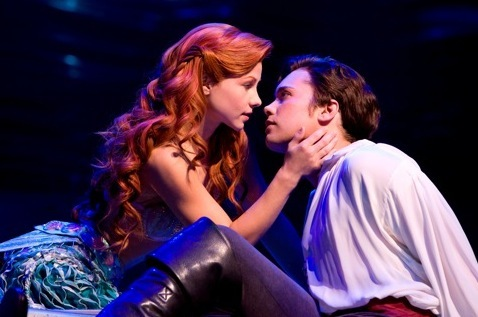 Pictures Of Drew Seeley In Broadways The Little Mermaid | Disney Dreaming