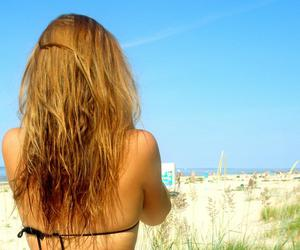 summer beach hair