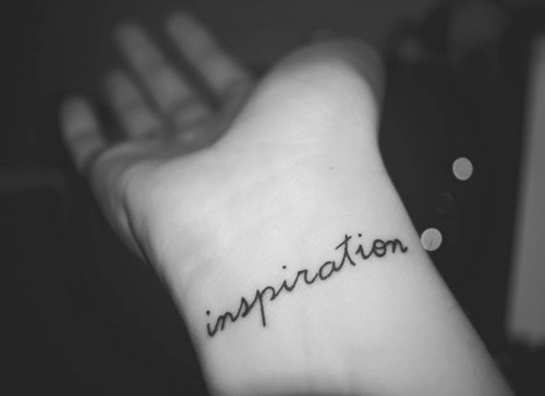 Wrist tattoos boudoir tales for Inspirational wrist tattoos