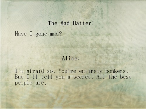 alice, alice in wonderland, mad hatter - inspiring picture on Favim.com