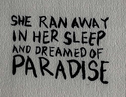 coldplay, lyric, lyrics, paradise - inspiring picture on Favim.com