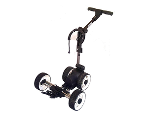 compact golf trolley