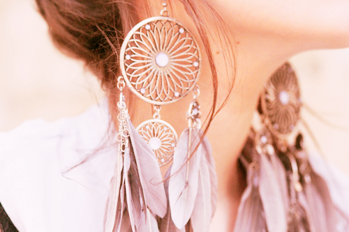 Gorgeous Feather Earrings - Love It So Much