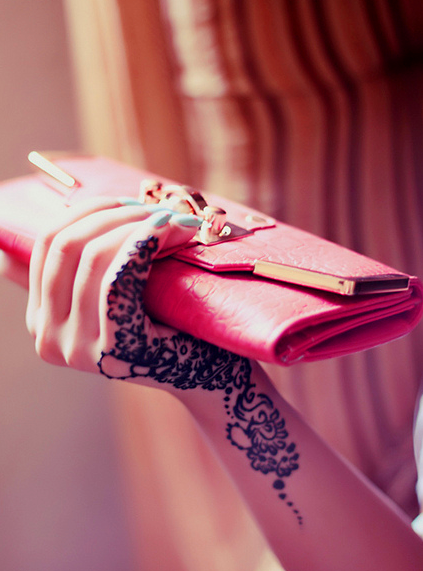 Pink Clutch Card Bag - Love It So Much