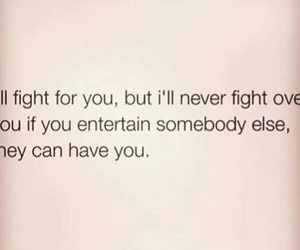 i'll fight for you
