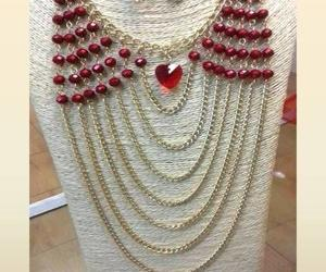beaded jewelry set