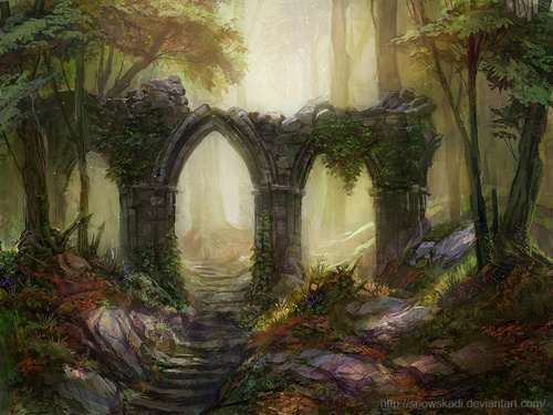 Forest 3 by ~SnowSkadi on deviantART
