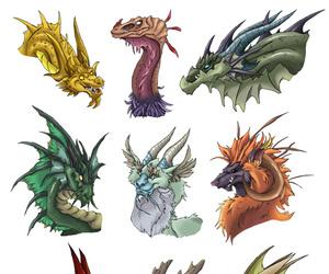 dragon art