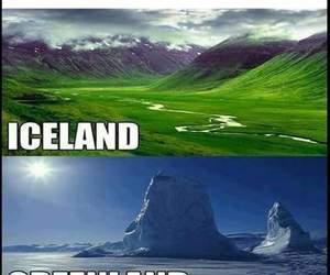 iceland. greenland