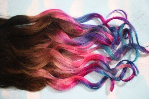 Colorful Long Hair | Colorfully