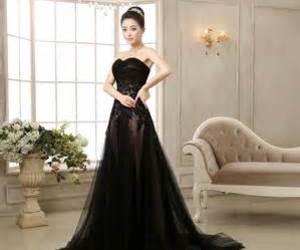 new black wedding dress