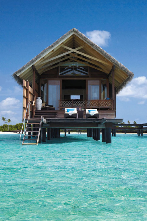 The Ultimate Luxury Destination : Shangri-La's Villingili Resort and Spa | Freshome