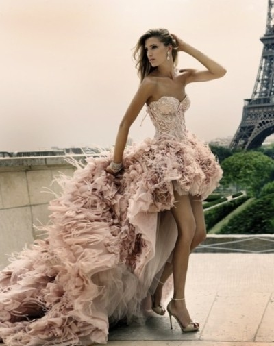 Beautiful,Dress,Eiffle tower,Girl,Hot,Modeling - inspiring picture on PicShip.com