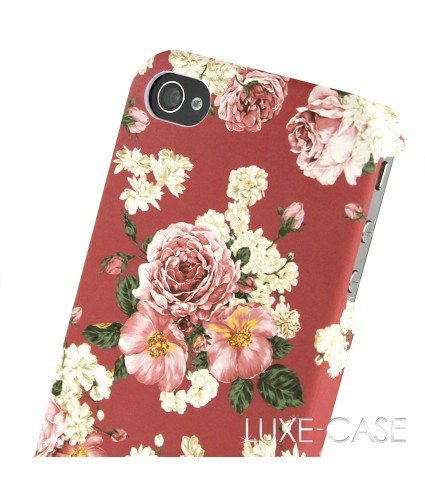 Dreams of Floral iPhone 4 Case in Pink | Vintage Inspired Floral iPhone 4 Cases