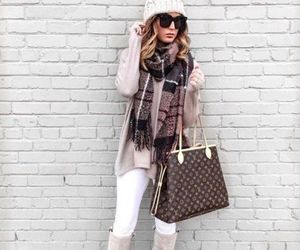 neutral street outfit