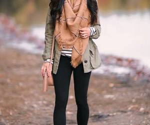 scarf outfit idea