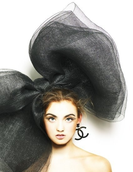 Bow,Chanel,Designer,Fashion,Model - inspiring picture on PicShip.com