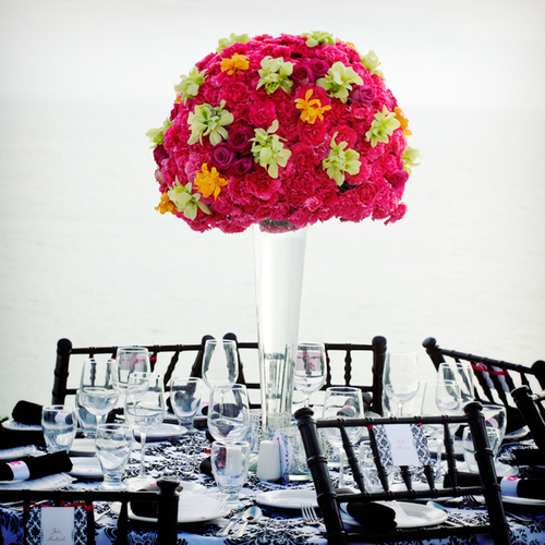 Blackwhitepinkweddingcenterpiece large