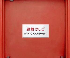 panic carefully