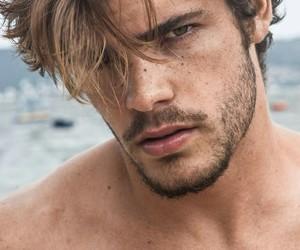 man male model portrait