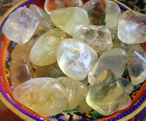 tumbled opalized citrine