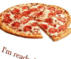 pizza is lo ve