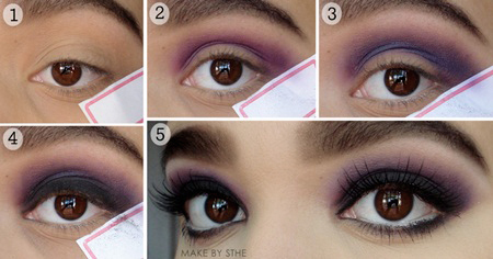 Make By Sthe .: Tutorial Smokey Eyes