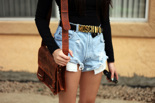 .Live.Laugh.Love. – moschino belt again??