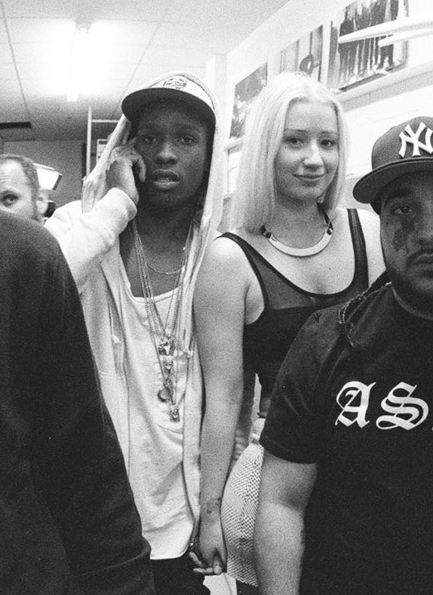 Iggy Azalea & A$AP Rocky | We Heart It | iggy azalea, asap ...  Iggy Azalea & A...