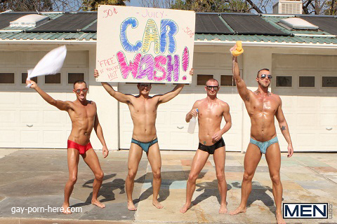 A Slip At The Car Wash 2012 - Drill My Hole | Free gay porn videos and ...