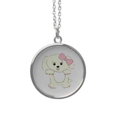 hello puppy necklace p177532696664298000envcx 400 large Hello Puppy Necklace from Zazzle.com