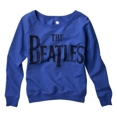 License Juniors The Beatles Long Sleeve Graphic Tee on LoLoBu