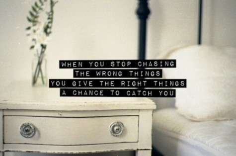 Piccsy :: When You Stop Chasing The Wrong Things
