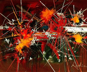 french abstract painter