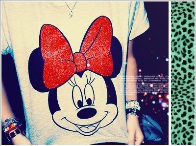 Cloth,Cute,Lovely,Mickey mouse,Red - inspiring picture on PicShip.com