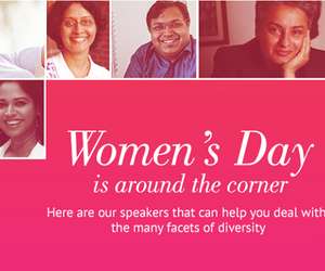 women speakers in india
