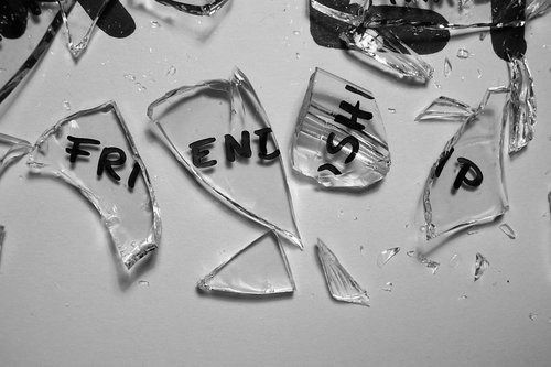 black black and white broken friendship glass Favim.com 414634 large black, black and white, broken, friendship, glass   inspiring picture on Favim.com