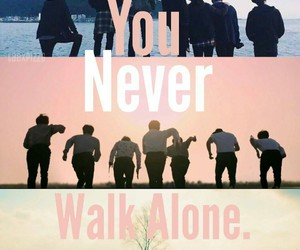 you never walk alone